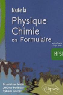 Toute la physique-chimie en Formulaire - MPSI