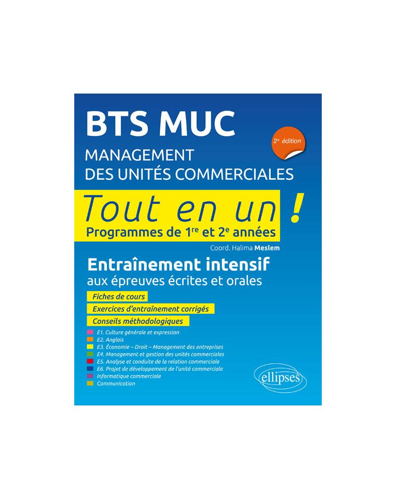 BTS MUC (Management des unités commerciales) - 2e édition