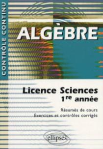 Algèbre - Licence sciences 1re année