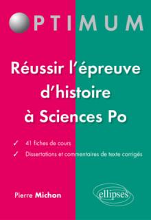 L'histoire à l'entrée de Sciences Po – fiches et dissertations corrigées