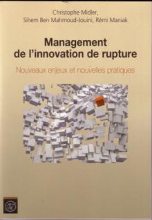 Management de l'innovation de rupture