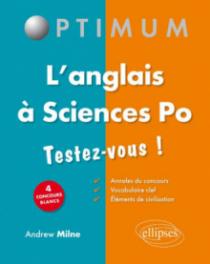 L'anglais à Sciences po - Testez-vous !