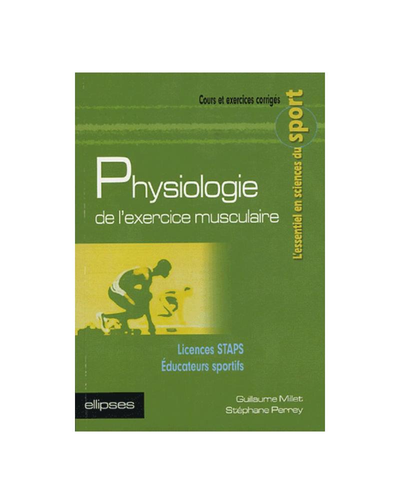 Physiologie de l'exercice musculaire - Licences STAPS - Educateurs sportifs