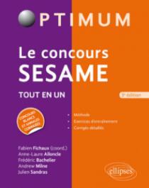 Le concours SESAME - 3e édition