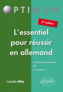 L'essentiel pour réussir en allemand – 2e édition