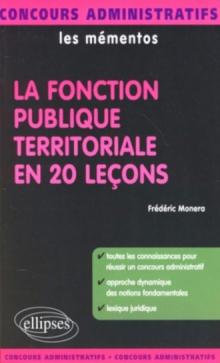 La fonction publique territoriale en 20 leçons