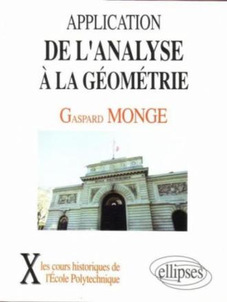 Application de l'analyse à la géométrie (1807)