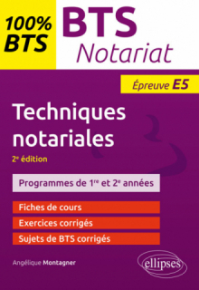 Techniques notariales - 2e édition