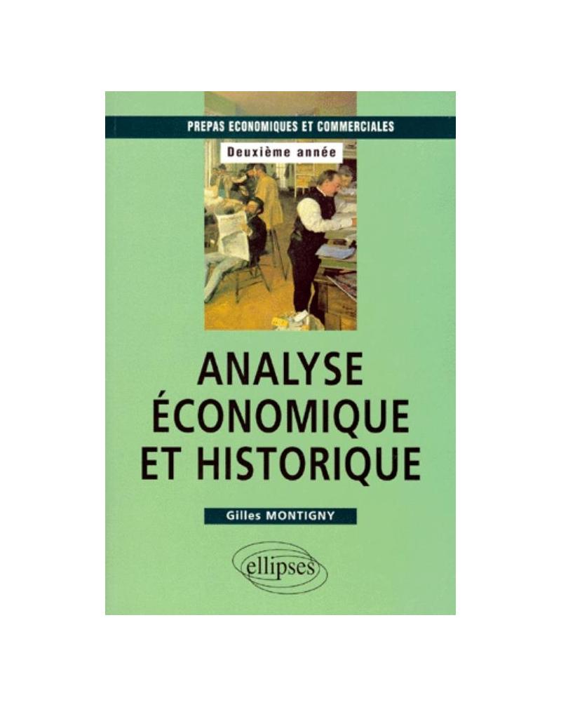 Analyse économique et historique - Prépas HEC 2e année