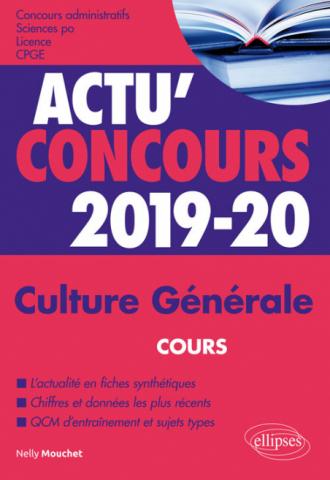 Culture Générale - concours 2019-2020