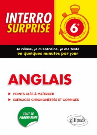 Anglais Interro Surprise  6e - Grammaire et Vocabulaire