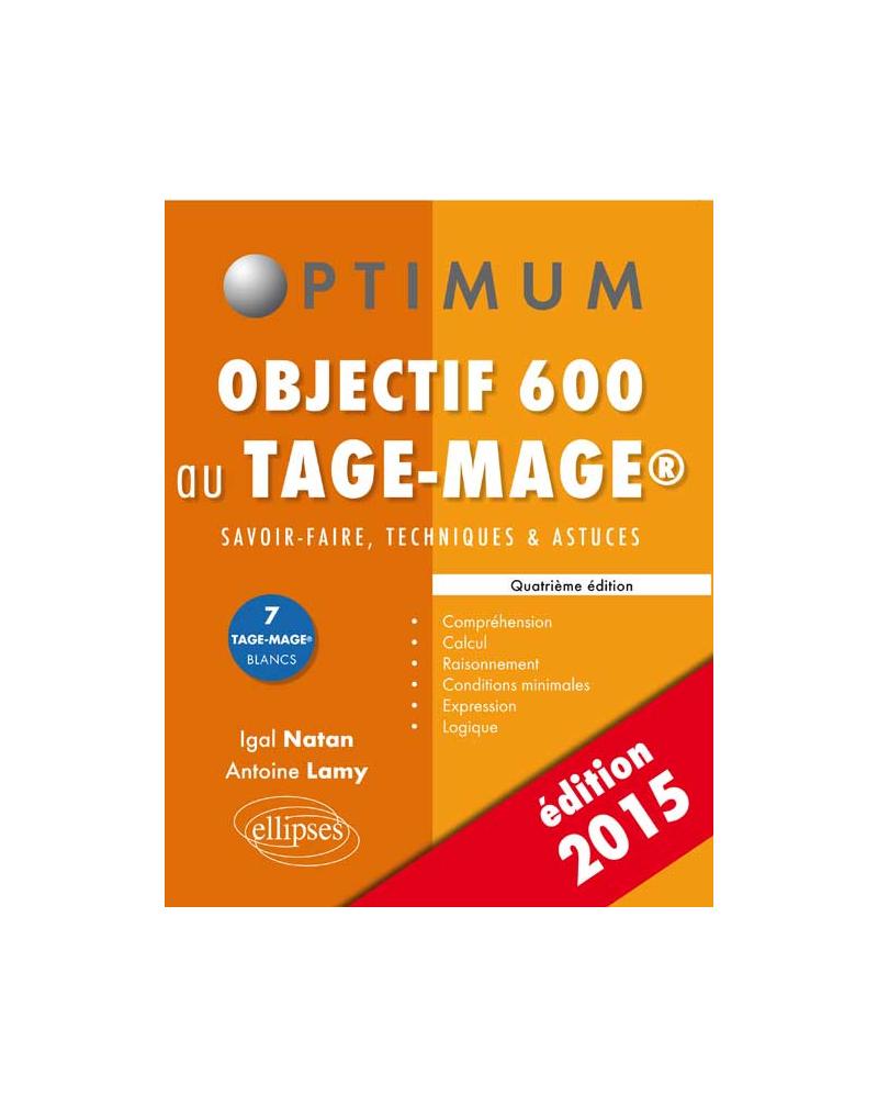 Objectif 600 au Tage-Mage - 4e édition