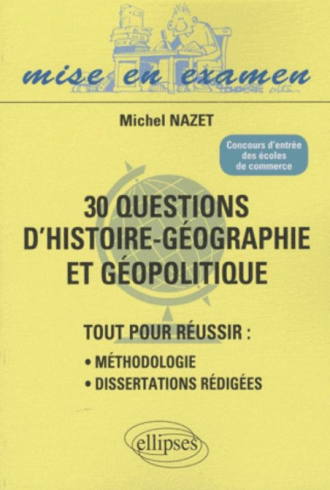 Dissertation geographie methodologie