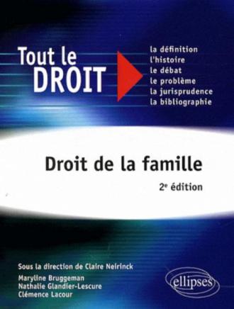 Droit de la famille - 2e édition