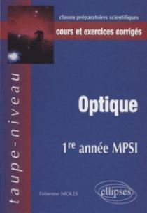 Optique 1re année MPSI