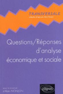 Questions / Réponses d'analyse économique et sociale
