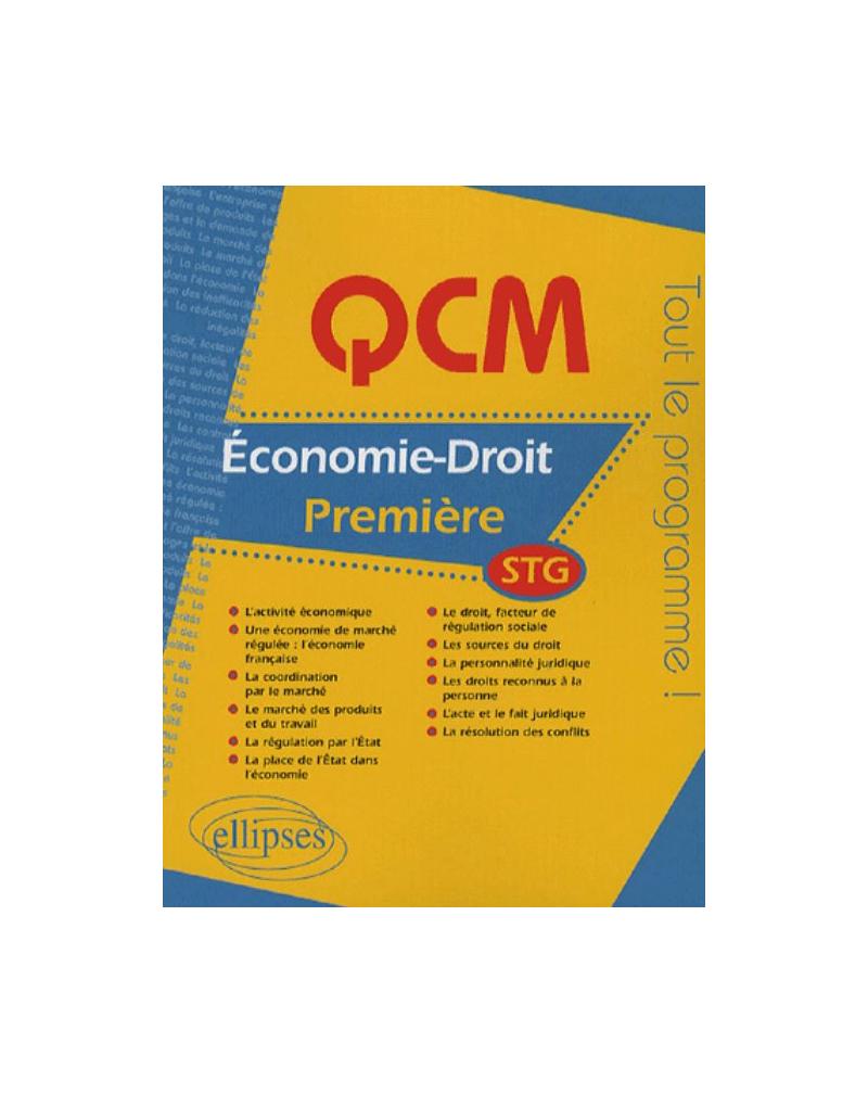 QCM économie-droit - Première STG
