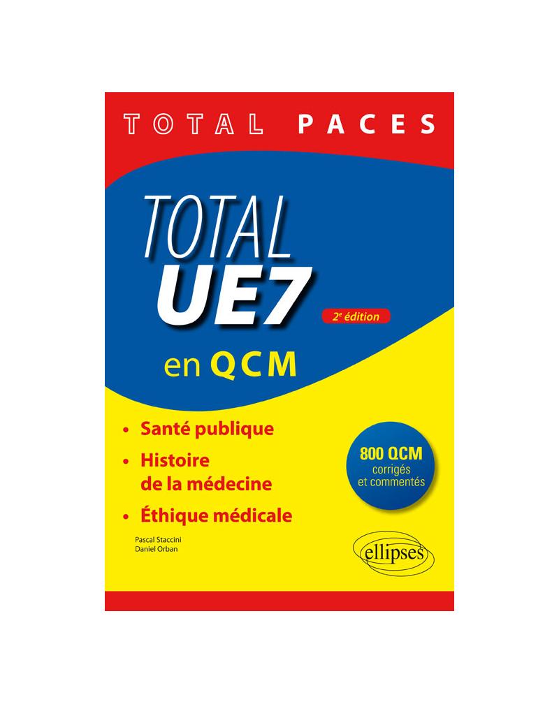 Total UE7 (en QCM) - 2e édition
