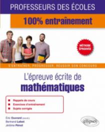L'épreuve écrite de mathématiques