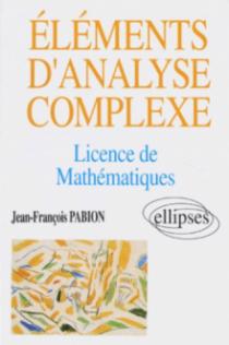 Éléments d'analyse complexe (Licence Mathématiques)