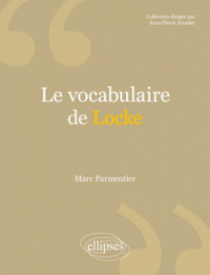 Le vocabulaire de Locke