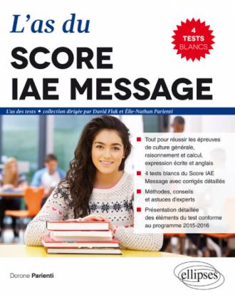 L'As du Score IAE Message