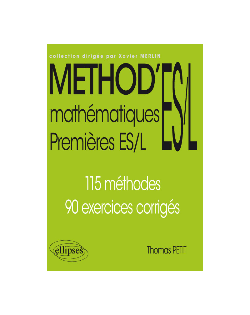 Mathématiques Premières ES/L