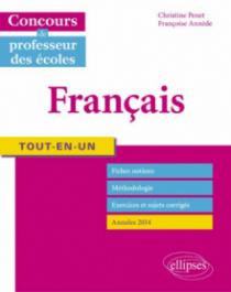 Tout-en-un Français - Concours de professeur des écoles