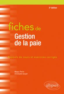 Fiches de Gestion de la paie - 3e édition