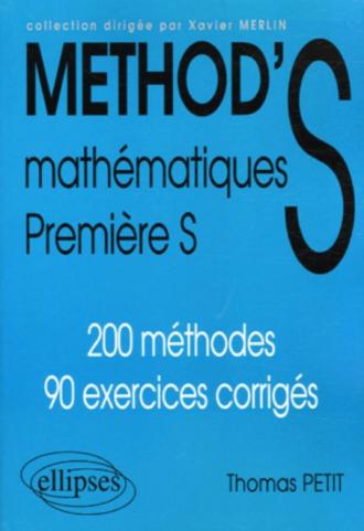Mathématiques Première S