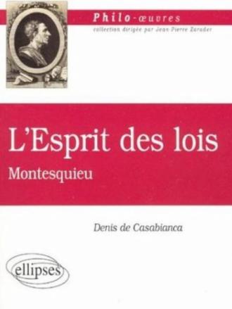 Montesquieu, De l'Esprit des lois
