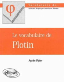 vocabulaire de Plotin (Le)