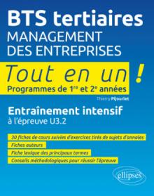 Management des entreprises - Entraînement intensif à l'épreuve U3.2