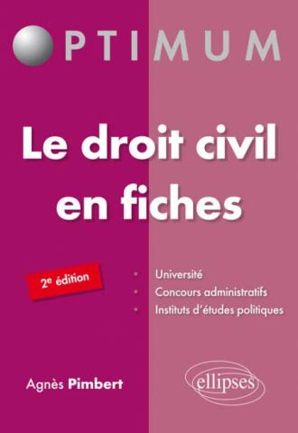Le droit civil en fiches 2e édition