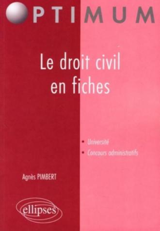 Le droit civil en fiches