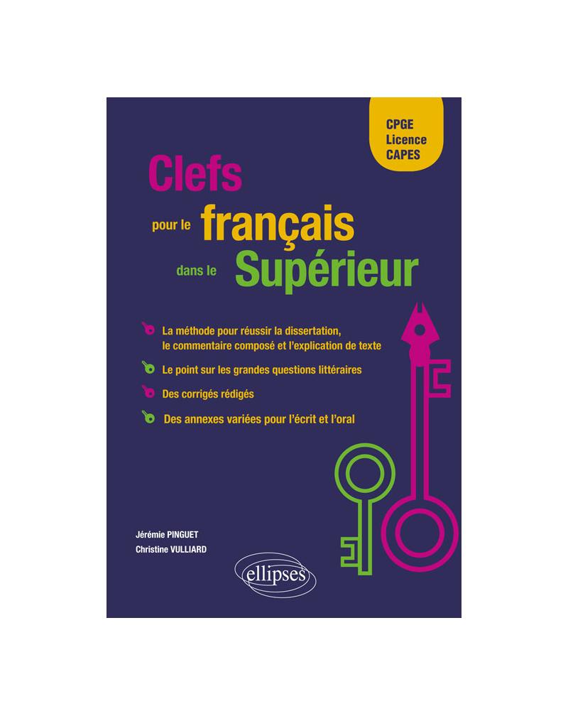 Clefs pour le français dans le Supérieur