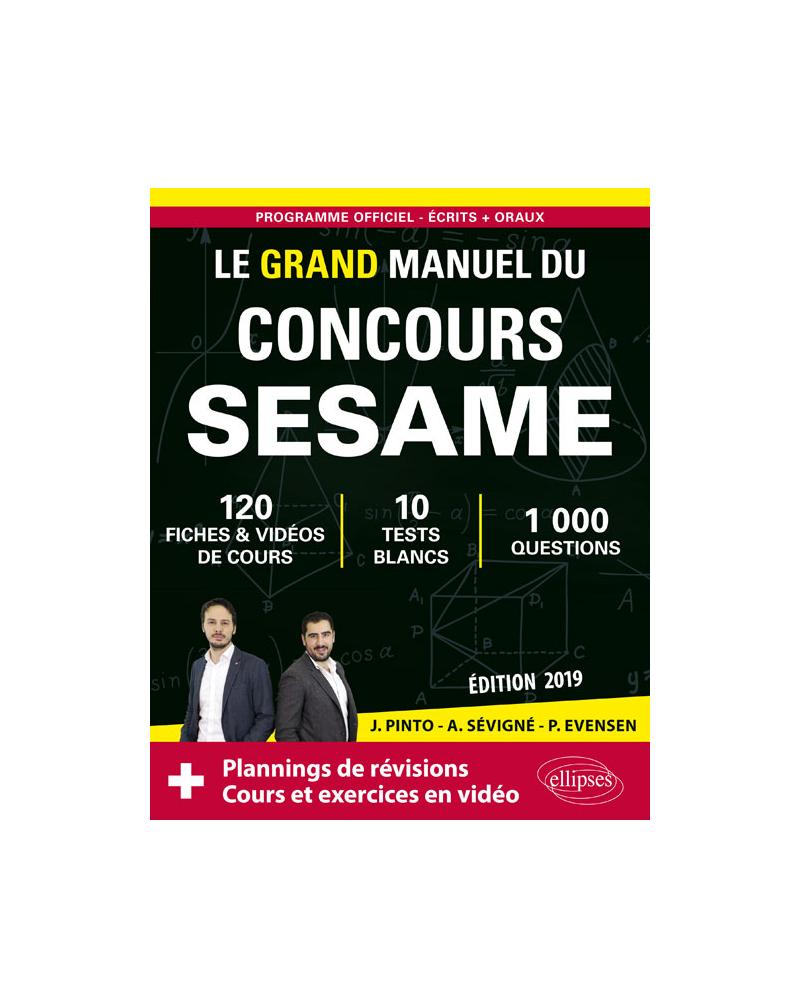 Le Grand Manuel du concours SESAME