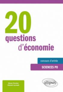 20 questions d'économie • spécial concours d'entrée à Sciences Po