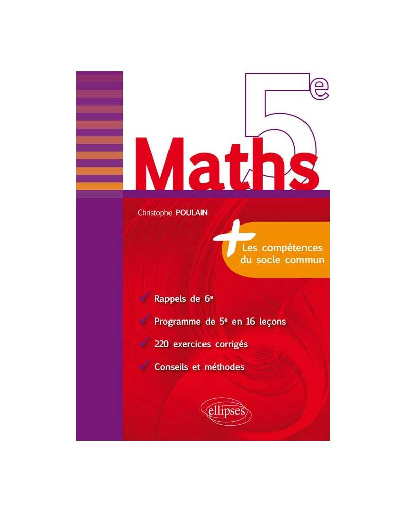 Maths 5e - fiches de rappel + exercices corrigés