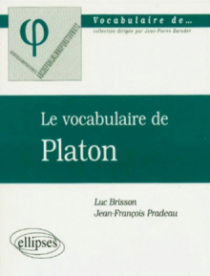 vocabulaire de Platon (Le)