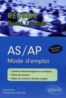 AS/AP. Mode d'emploi. Nouvelle édition
