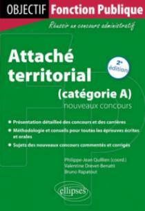Attaché territorial - nouveaux concours (catégorie A)