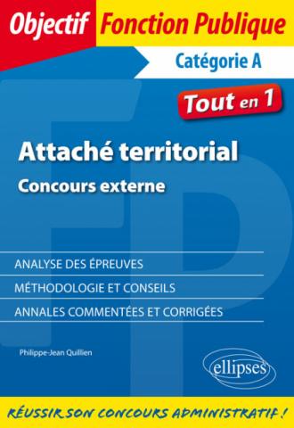 Attaché territorial. Concours externe