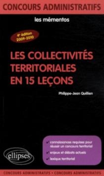 Les collectivités territoriales en 15 leçons - 4e édition
