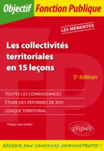 Les collectivités territoriales en 15 leçons - 5e édition