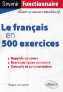 Le français en 500 exercices