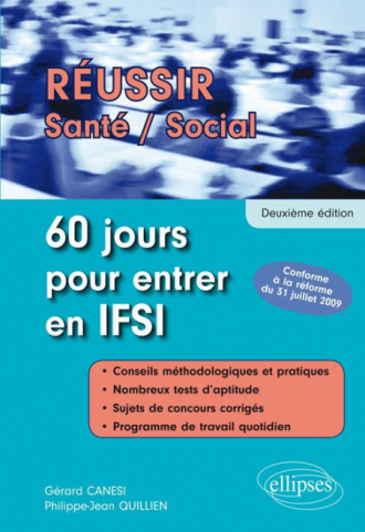 60 jours pour entrer en IFSI - 2e édition