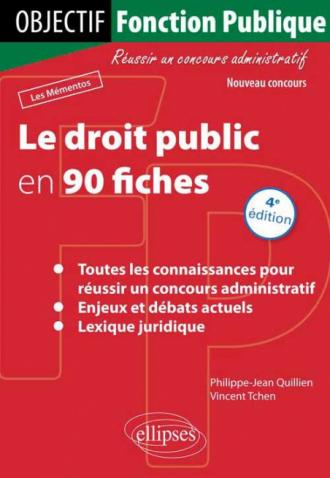 Le droit public en 90 fiches - 4e édition