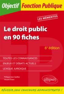 Le Droit public en 90 fiches - 6e édition