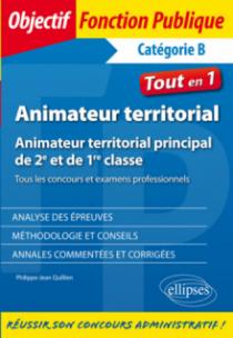Animateur territorial - Animateur territorial principal de 2e et de 1re classe